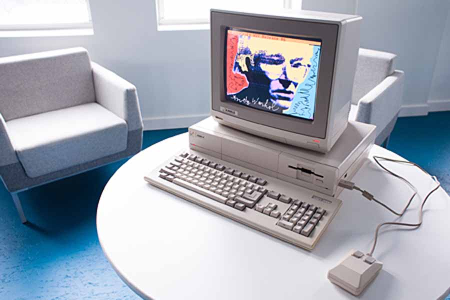 The Andy Warhol Museum Amiga Exhibit 2