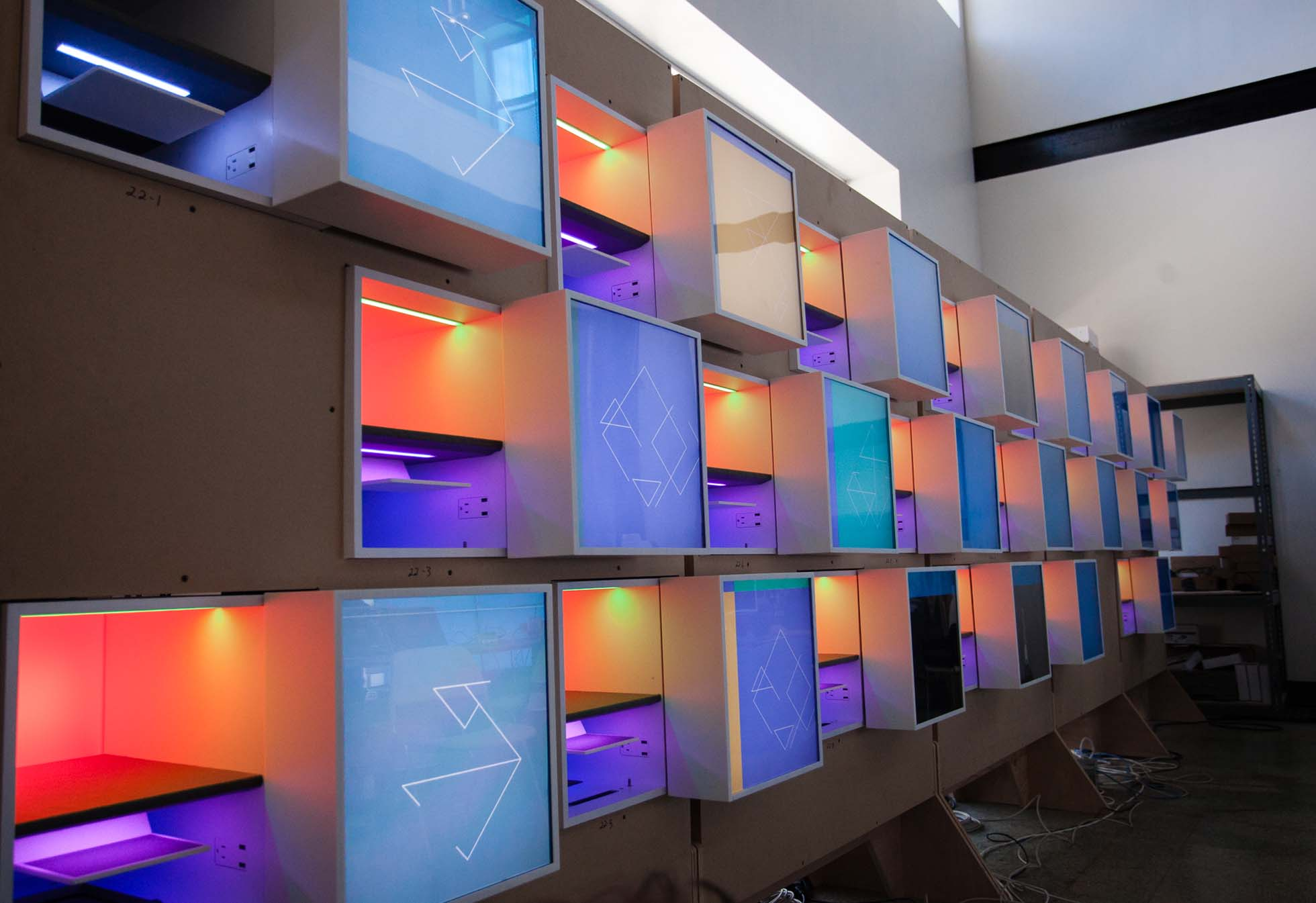 Iontank - Google Cubby Wall