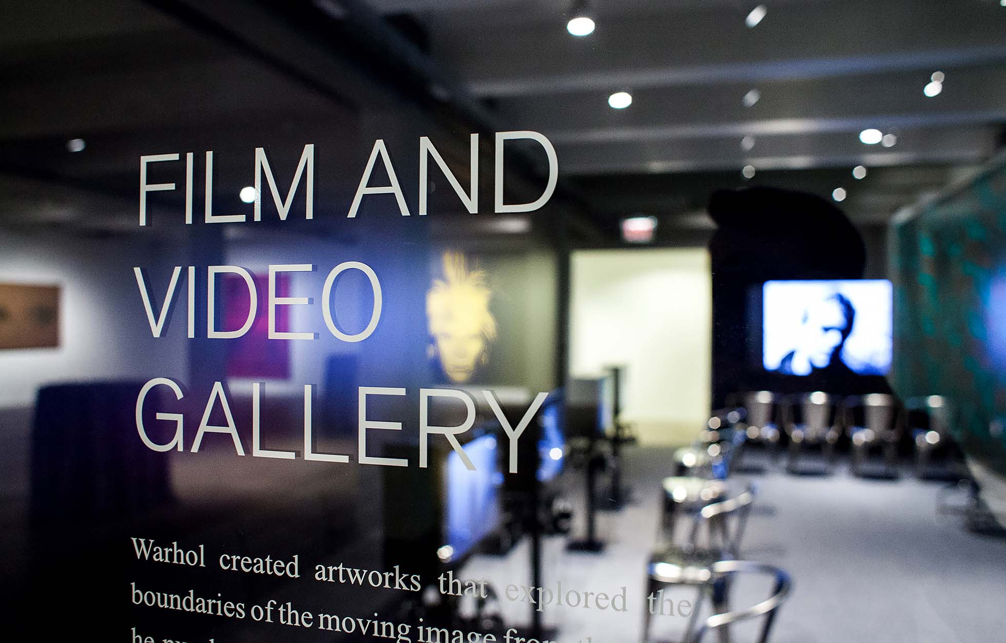 Iontank - The Andy Warhol Museum Film Gallery