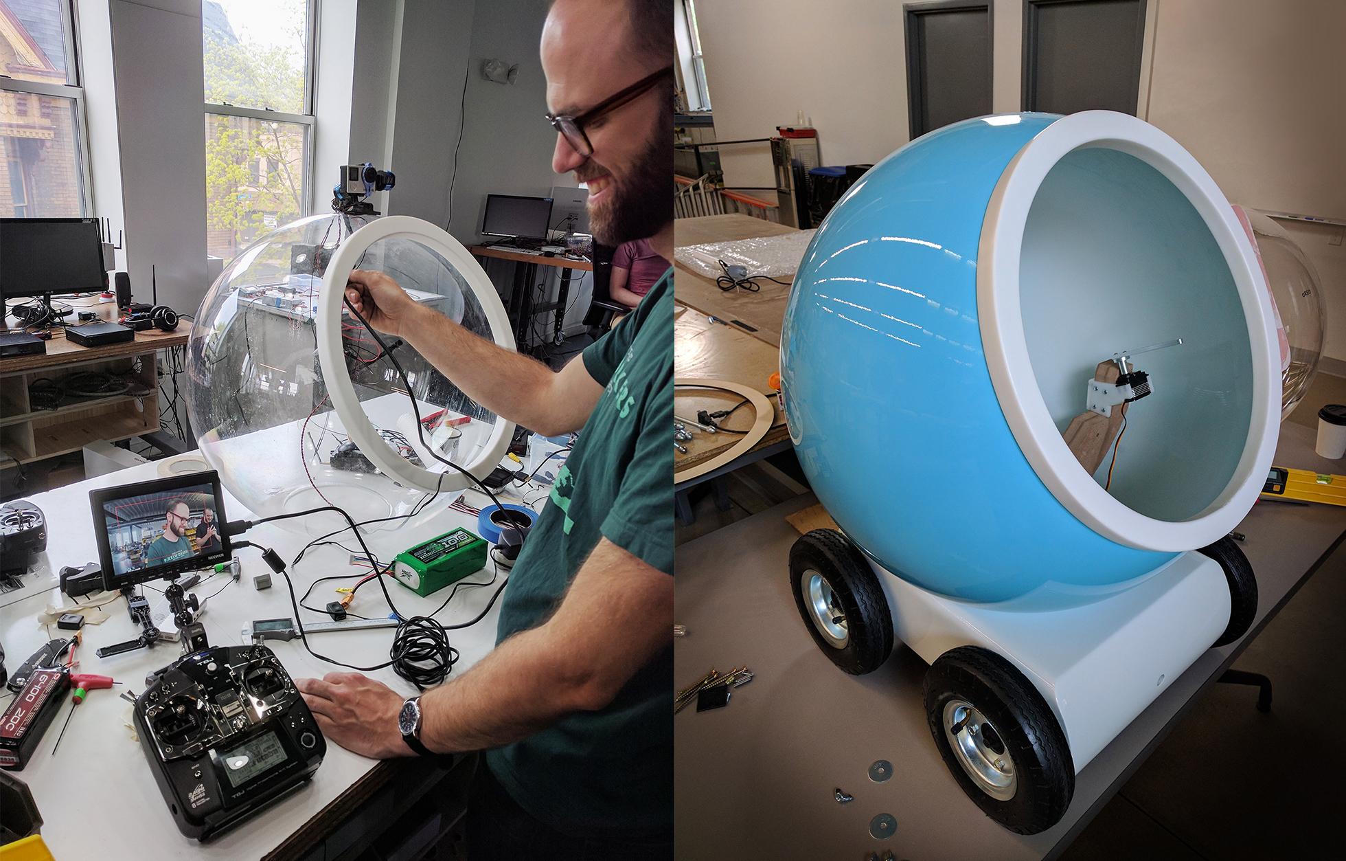 Iontank - Oreo WonderBot